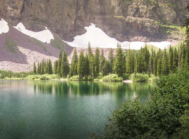 Noname lake hike